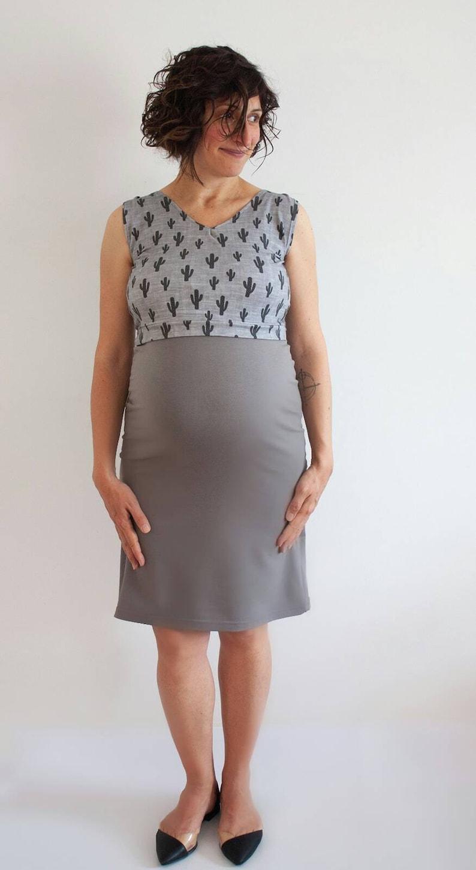 1f7c41dd6e3 NURSING DRESS for Breastfeeding Maternity Dress for Baby