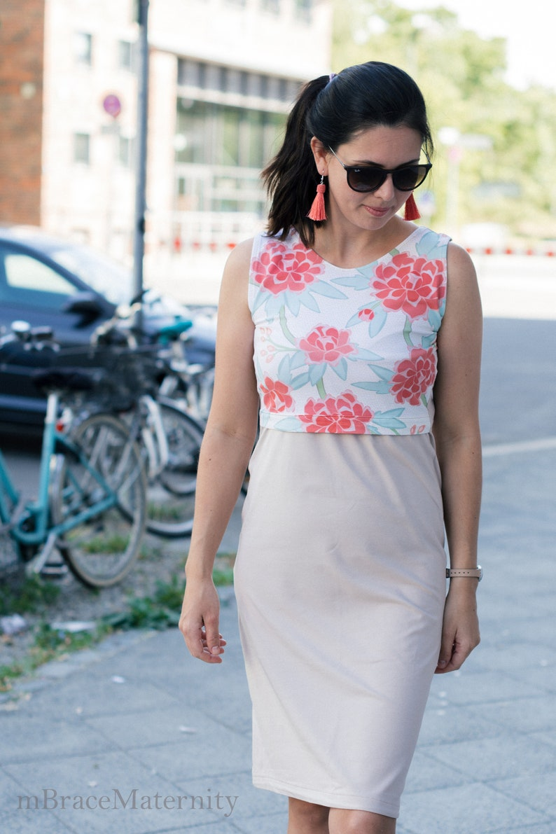 efaab3bc3 Nursing Dress for breastfeeding Maternity dress for pregnancy