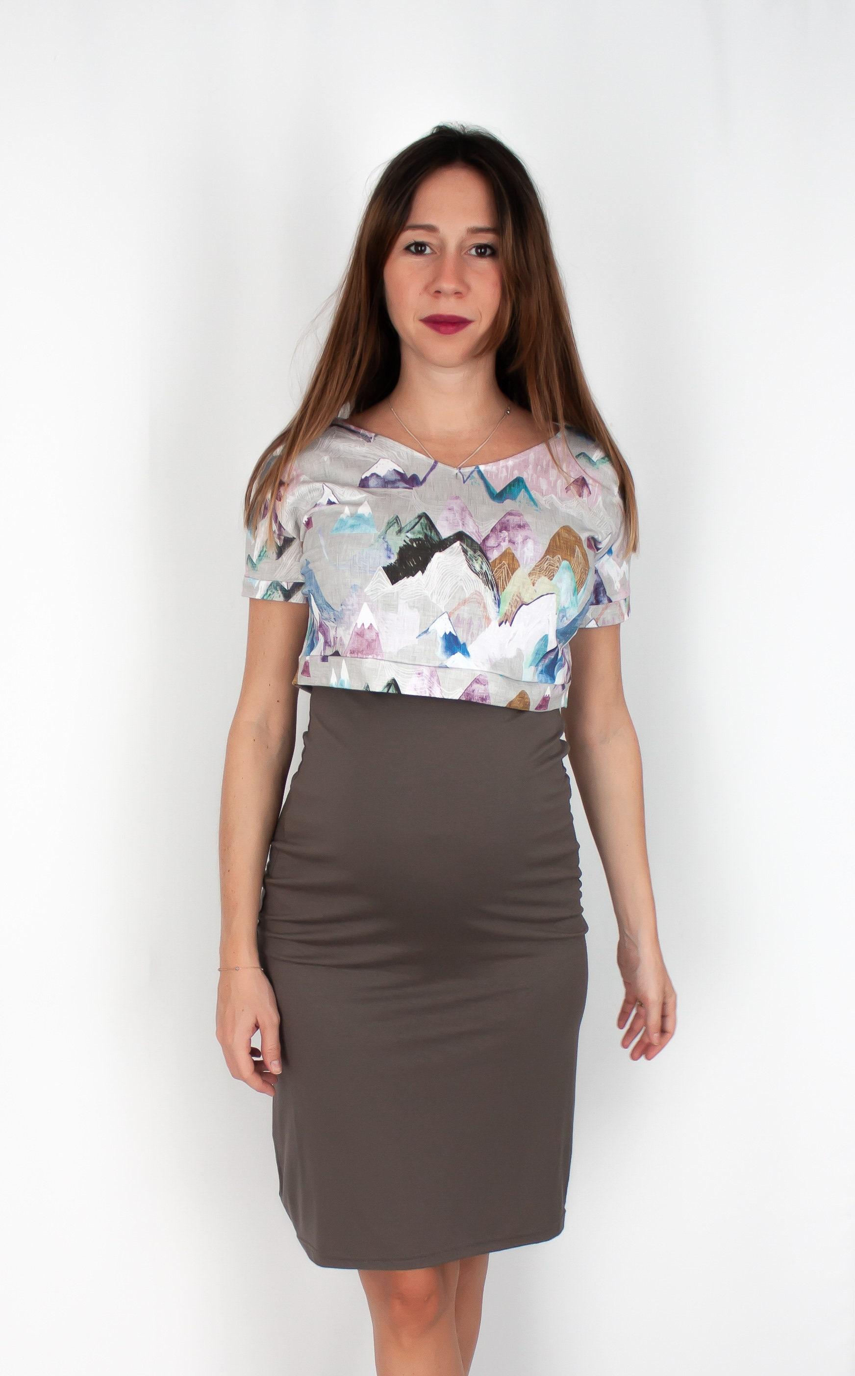 e40d4a3f18043 Boho Maternity dress & Nursing clothes for breastfeeding. | Etsy