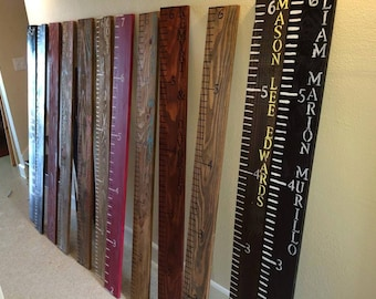 Custom Wooden growth chart/growth chart/farmhouse decor/growth chart ruler/baby shower gift/rustic growth chart/nursery decor/height chart