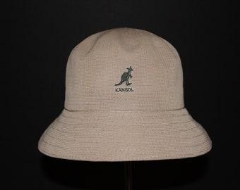 e7b323bf5971b Beige Kangol Bucket Hat