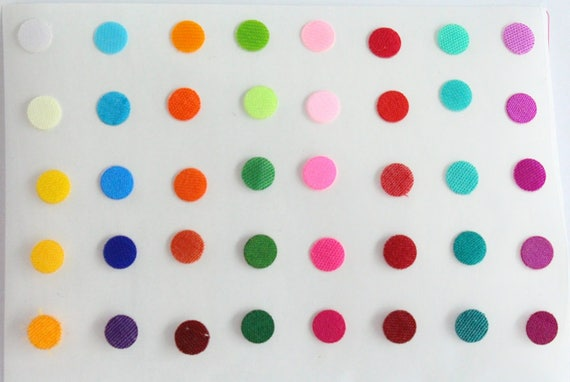 Plain round bindi stickers round bindiscolorful