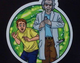 Rick and Morty Magnet