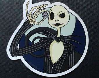 The Nightmare Before Christmas Magnet