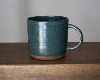Square Mug - Teal