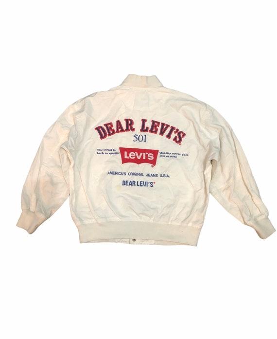 Dear Levis 501 Bomber Jacket