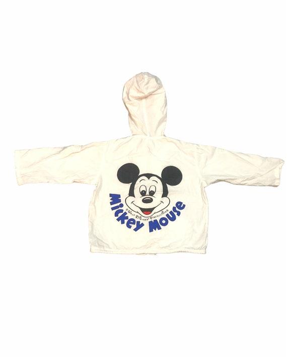 Mickey Mouse Big Logo Hoodies Jacket