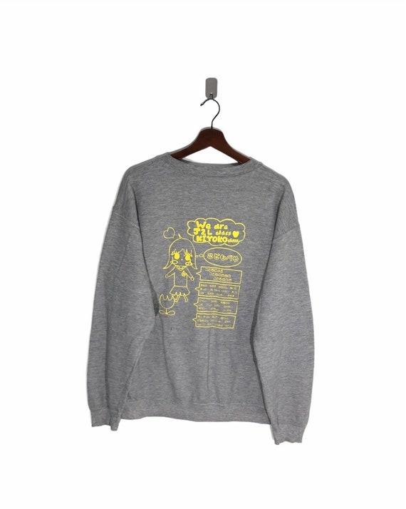 Gildan Tag Big Logo Anime Sweatshirt