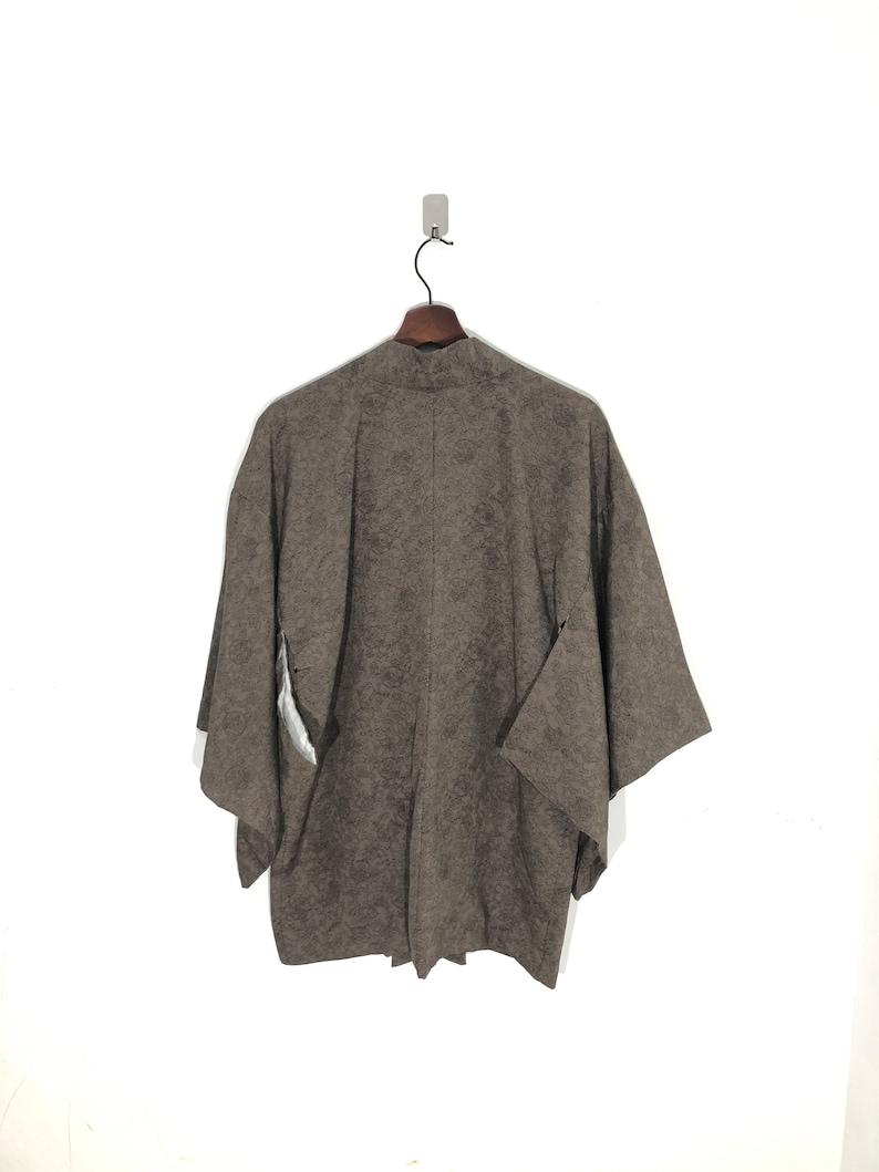 Made in Japan Silk Kimono Hanten Handmade