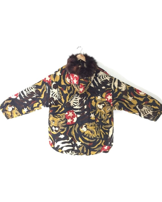 Iceberg Full Print Jacket Hoodies