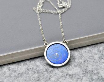 Silver/Aluminium Pendant
