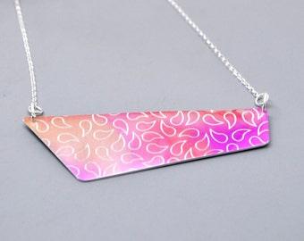 Colourful Aluminium Necklace