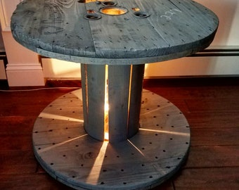 Wire Spool Furniture Etsy