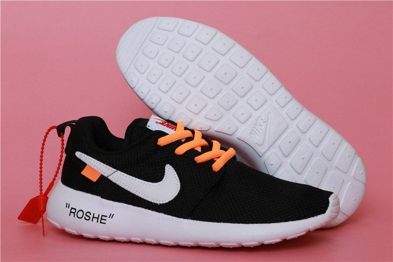 cdaf8d068ab2 Custom Nike Roshe One Off White Run athletic running shoes