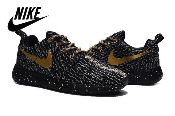 4f02f9a298a6 ... where to buy custom nike roshe run one br x flyknit kanye west boost  350 etsy