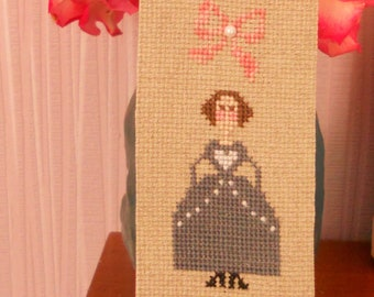 Jane Eyre embroidered bookmark