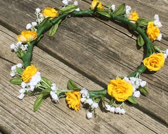 custom flower crown, design-your-own flower crown