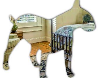Acrylic English Bulldog mirror