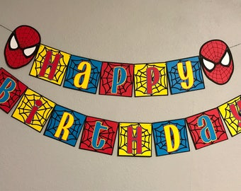 Spiderman Banner
