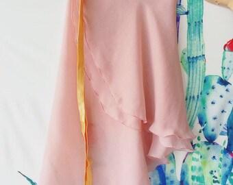 aeb6450b88c6 RTW - Rose with Gold trim Aurora Skirt