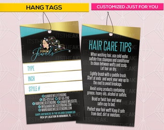 2d1879c714e Hang Tags – Customized For You – Hair Extension Packaging Bundle Tags Hair  Extensions Branding Hair Tags Hair Labels Bundles Swing Tags Glam