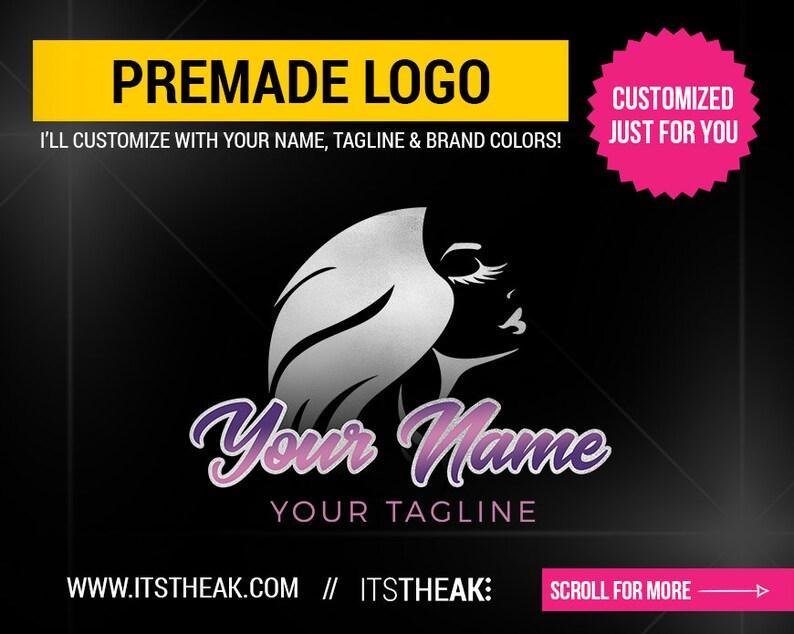 Premade Eyelash Logo – Beauty Lash Lashes Logo Eyelash Extensions Mink  Lashes Hair Logo Lash Bar Lash Business Branding Lash Technician Luxe