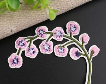 pink cherry blossom patch,flower patch,