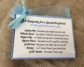 Keepsake Boyfriend Gift For Valentines Birthday My Soulmate Male Lover Him Man Who Has Everything