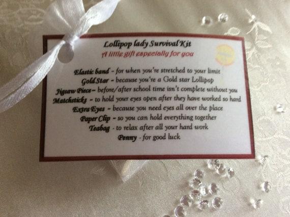 Thank you Cheerleading Coach Survival kit leaving Christmas secret santa gift