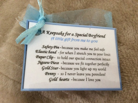 I Love You Birthday Gift For My Boyfriend Anniversary