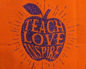 Teach Love Inspire Tote