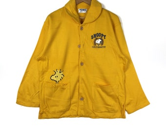 UNIVERSITY SNOOPY PEANUTS Printed Small Logo Snoopy Sleaping Wear Pajamas  Unisex Clothing Size Large 76b682ce3