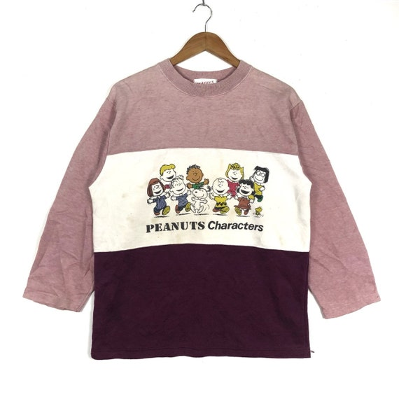 Rare!!PEANUTS SNOOPY Printed Members Of Peanuts Bi