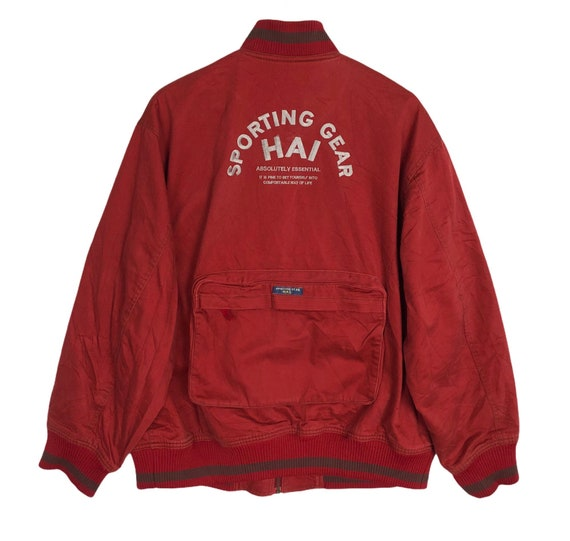 Vintage HAI SPORTING GEAR Issey Miyake Embroidery