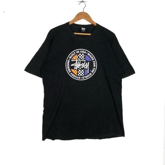 Rare!!STUSSY Graphic Tshirt Stussy Roots Reggae Su
