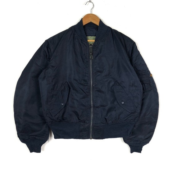 Vintage ALPHA INDUSTRIES INC Bomber Jacket Type Ma