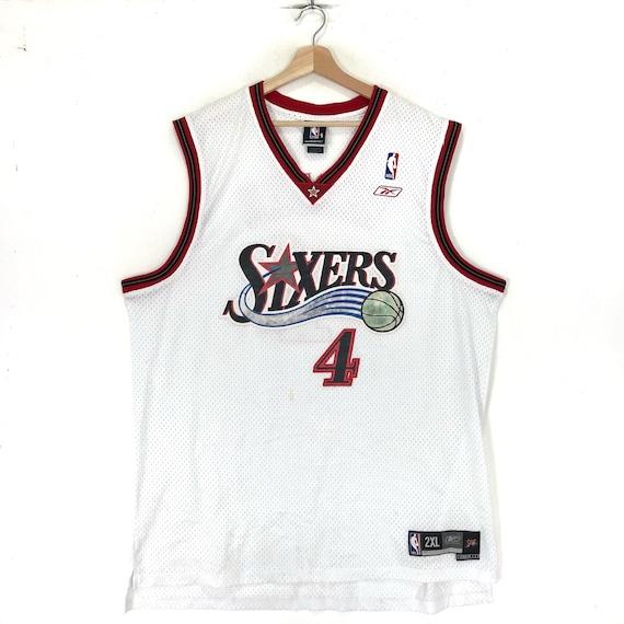Rare!Reebok Nba Jersey Philadelphia 76ers Sixers W
