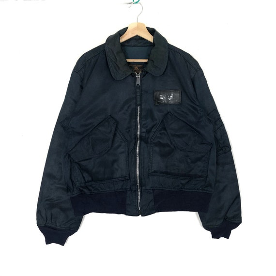 Vintage ALPHA INDUSTRIES INC Bomber Jacket Type Cw