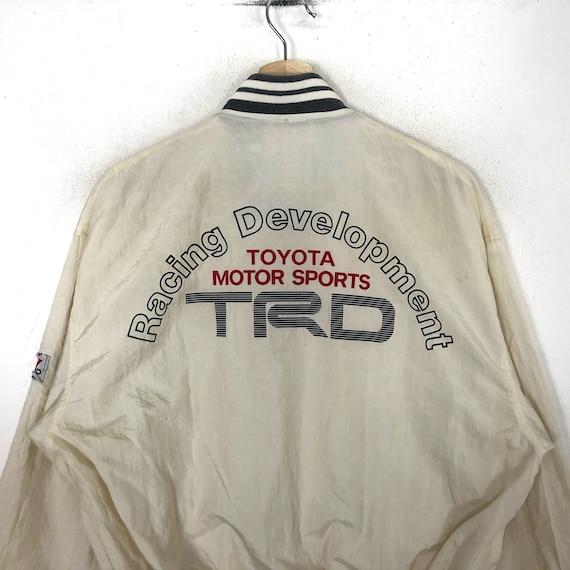 Rare!!TOYOTA MOTOR SPORTS Printed Big Logo Toyota… - image 3