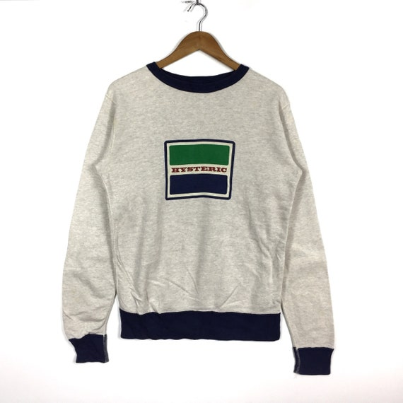 Size HYSTERIC Sweatshirt Brand Printed Fashion Clothing Big GLAMOUR Hysteric Japanese Style Rare Logo Medium Glamour aHOdqwRa