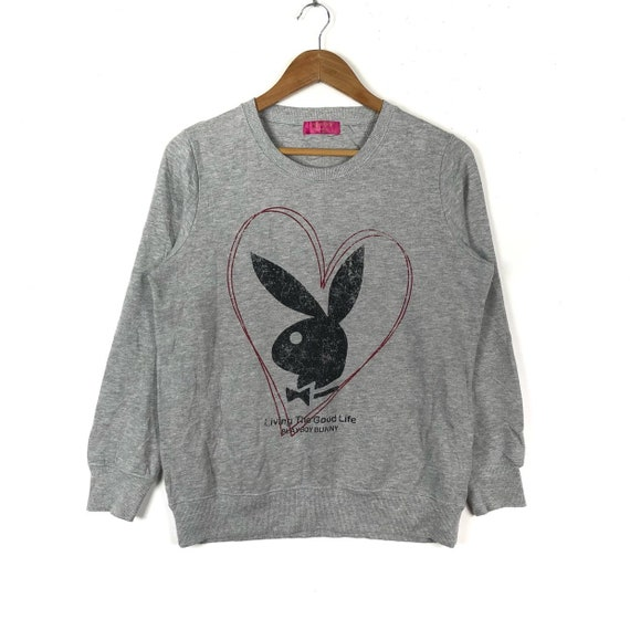 Rare!!PLAYBOY BIG BUNNY Embroidery Spell Out Big L