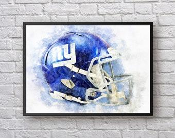 2d622d8b194 New York Giants Helmet Painting