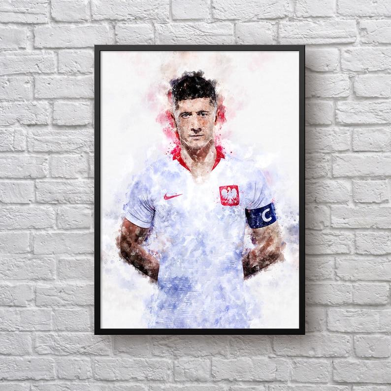 3ab07ac31 Robert Lewandowski Poster Lewandowski FIFA 2018 Poland