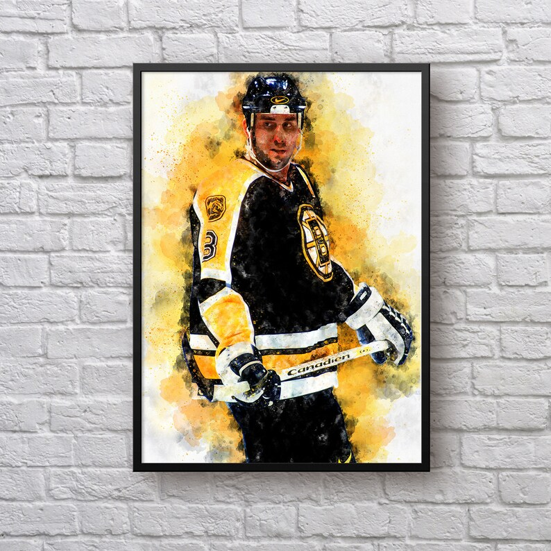 sports shoes 70ee5 c10f3 Cam Neely Poster, Gift for for Boston Bruins Fan, Hockey Fan Gift, Bruins  Room Decor, Gift for Men, NHL Player Art Print