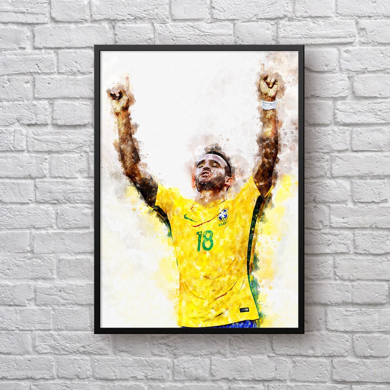 Renato Augusto Poster, Brazil National Football Team, Football Fan ...
