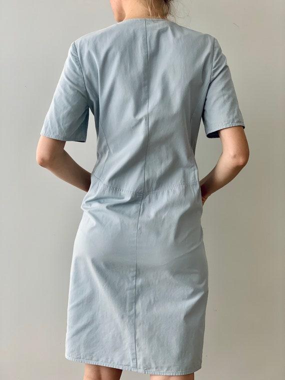 Vintage dress Shirt dress Valentino Cotton dress … - image 6