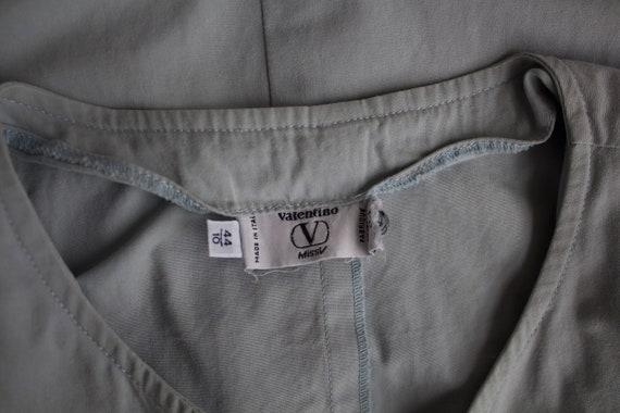 Vintage dress Shirt dress Valentino Cotton dress … - image 8