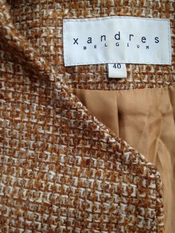Vintage women's tweed skirt suit / Woolen skirt s… - image 7
