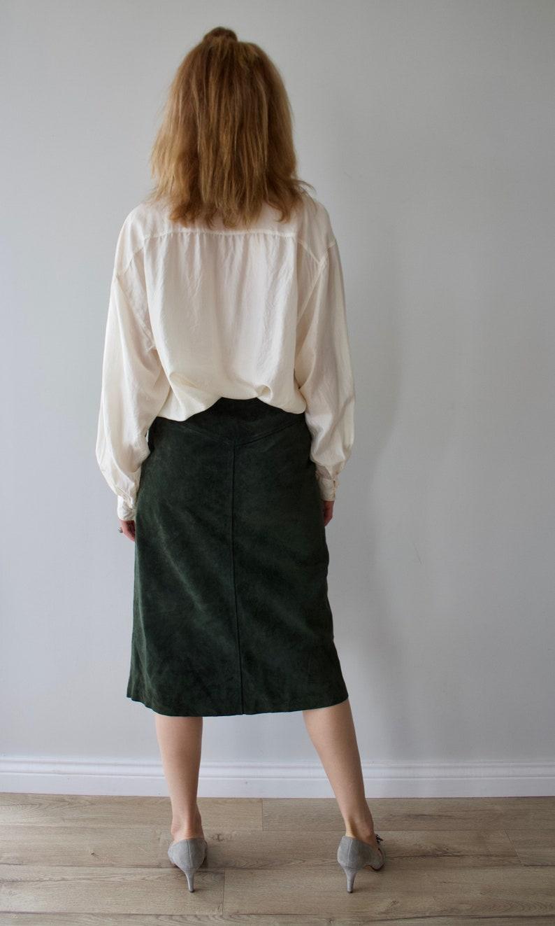 Vintage silk blouse woman  ivory button up shirt  pure silk  Long sleeve silk shirt