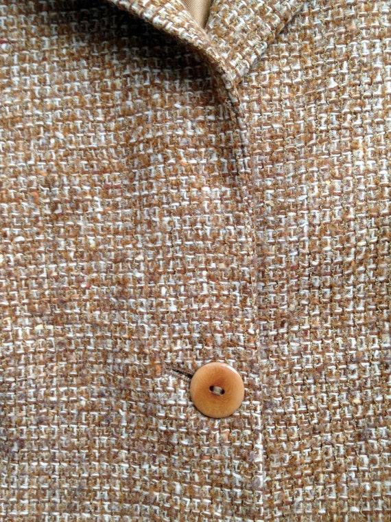 Vintage women's tweed skirt suit / Woolen skirt s… - image 5